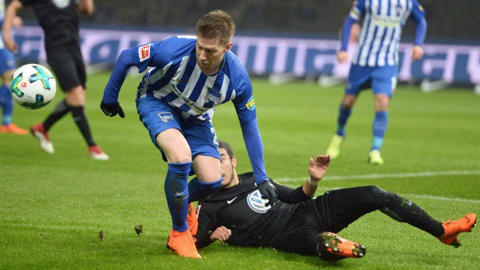 Hertha Berlin-Wolfsburg (1-1)